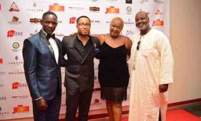 Actors Raymond Ofula, Mike Ezuruonye,Nduma Sako, Chris Kamau (1)
