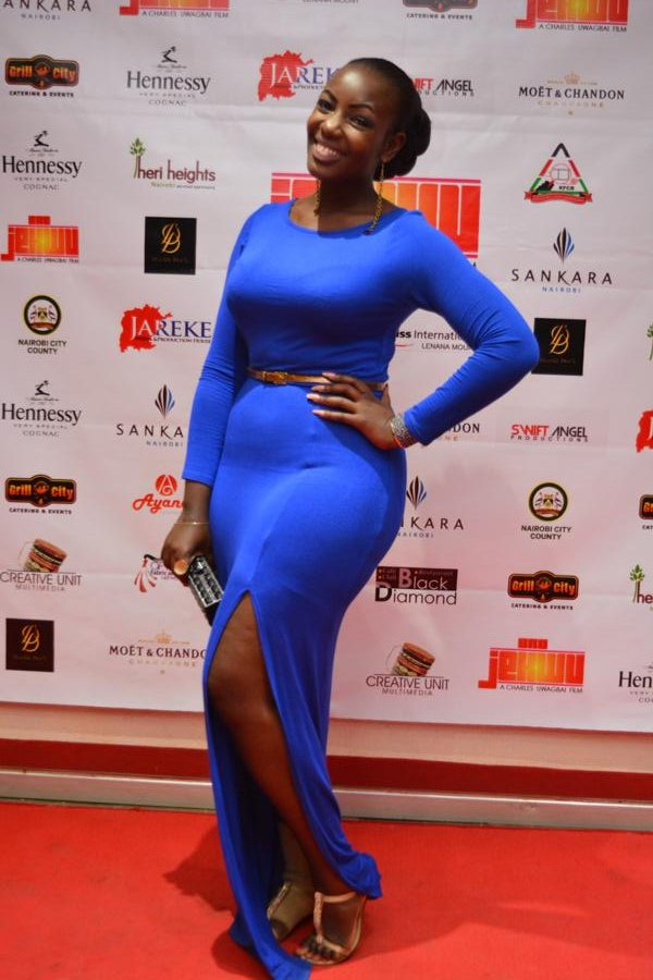 Actress Mumbi Maina.