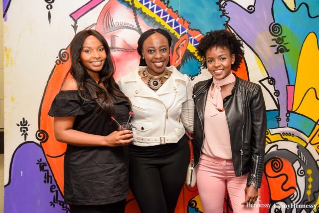 Fashion blogger Joy Kendi, fashion stylist Connie Oluoch and Blogger Sheila Ndinda.