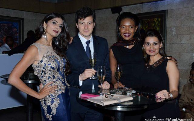 Pinky Ghelani, Pierre Louis, Olive Gachara and Meera Karia