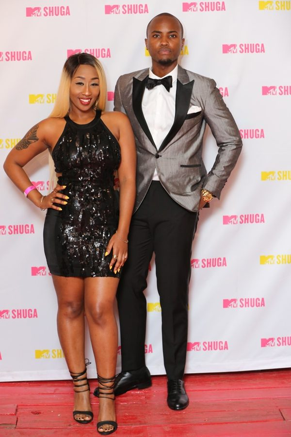 Victoria Kimani and Nick Mutuma