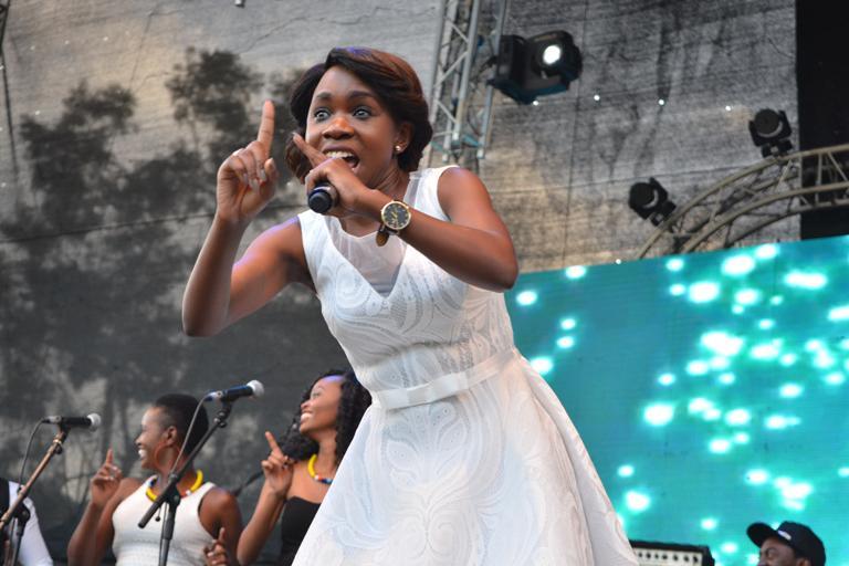 Gospel singer Evelyn Wanjiru.