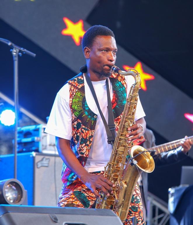 Juma Tutu from Swahili Jazz band.