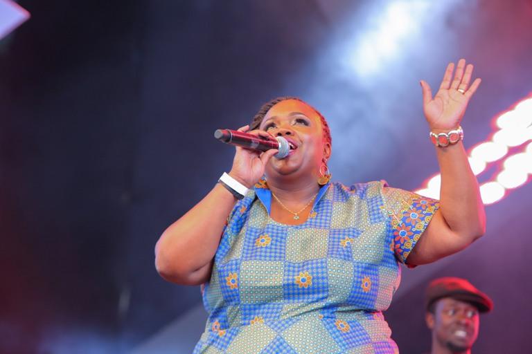 Safaricom International Jazz Music Director, Kavutha Mwanzia- Asiyo.