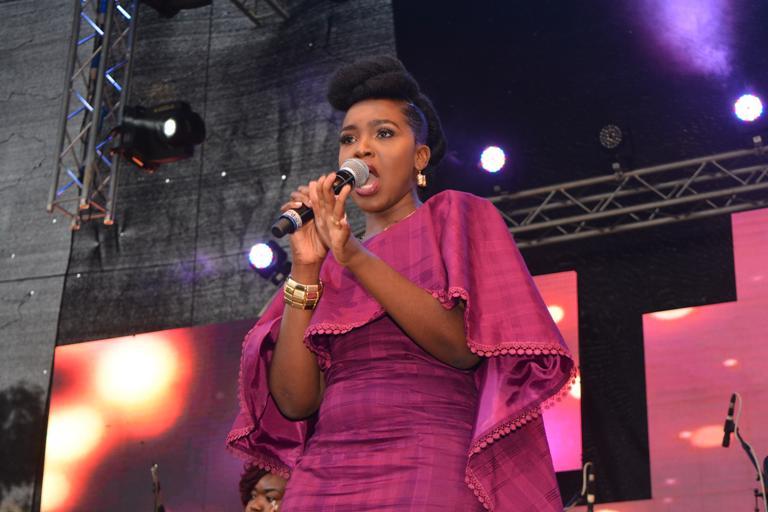 Singer Joyce Omondi.