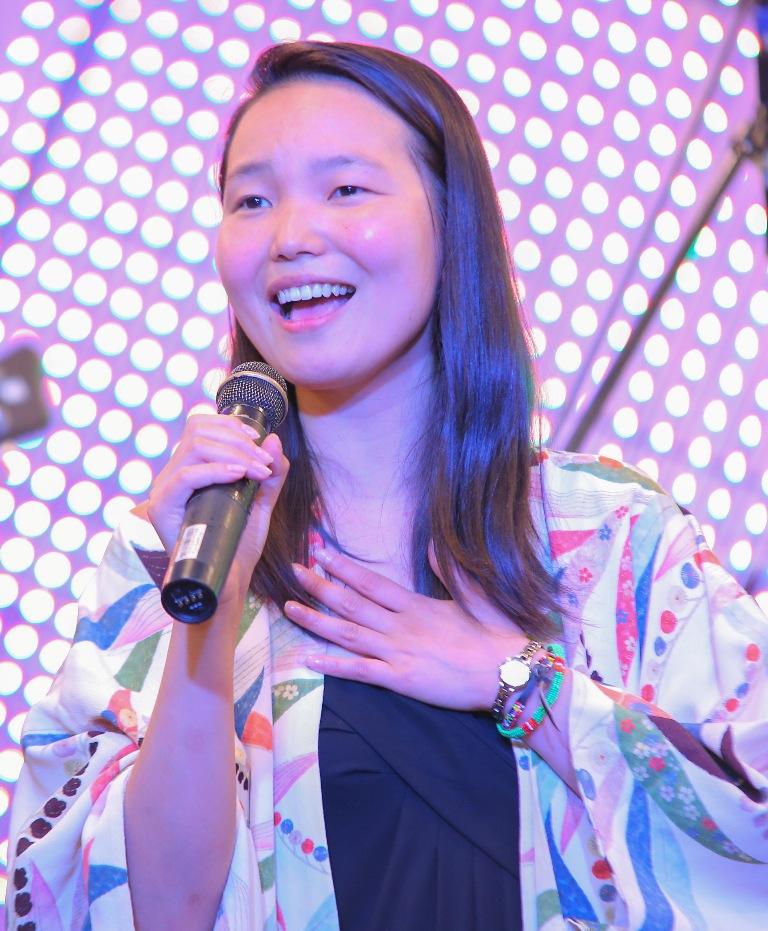 Japanese Jazz vocalist, Utako Yamauchi.