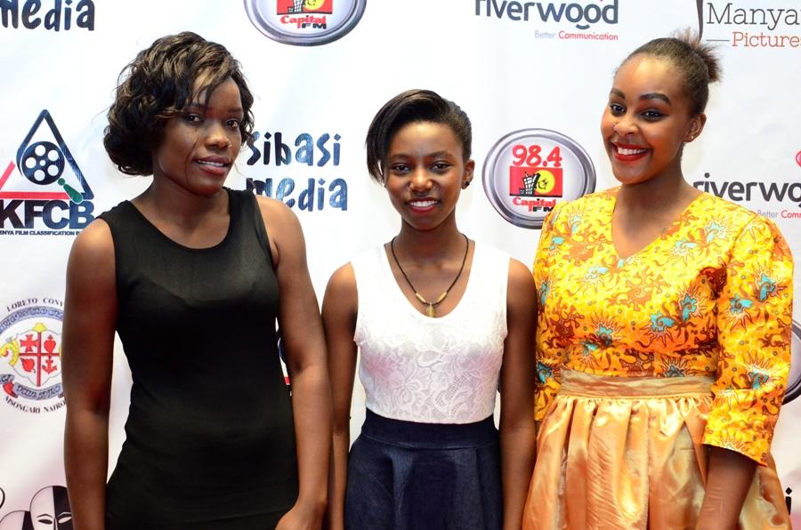 Joan Onyando, Clemence Wali, Maureen Njoki.