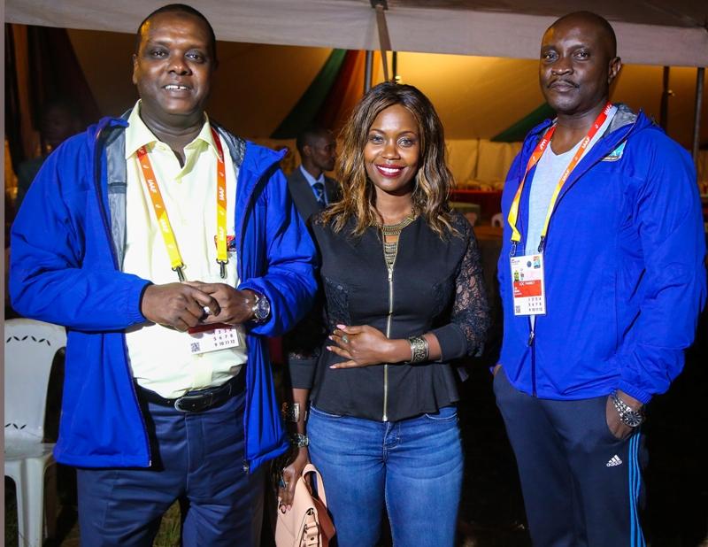 CS Hassan Wario and Sanaipei Tande