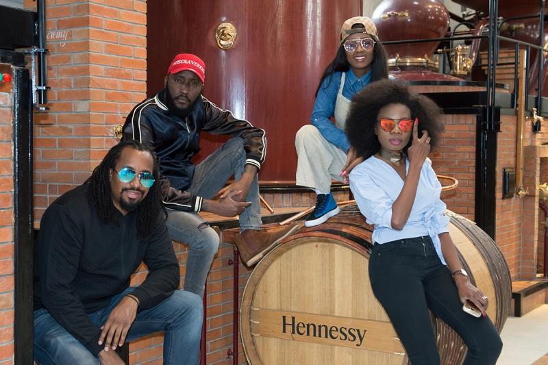 Shaffie Weru, Vanessa Mdee, Navio and Lucia Musau.