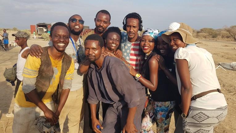 Watu Wote cast and crew.