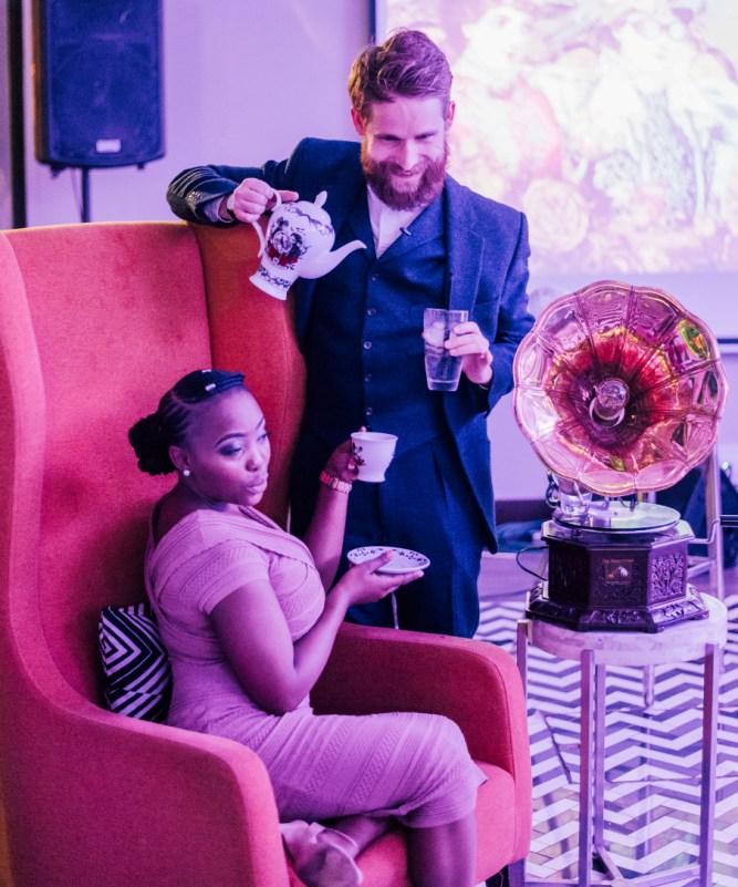 Ally Martin, Hendricks Gin Global Brand Ambassador & Zanele Ngomana William Grant & Sons South Africa