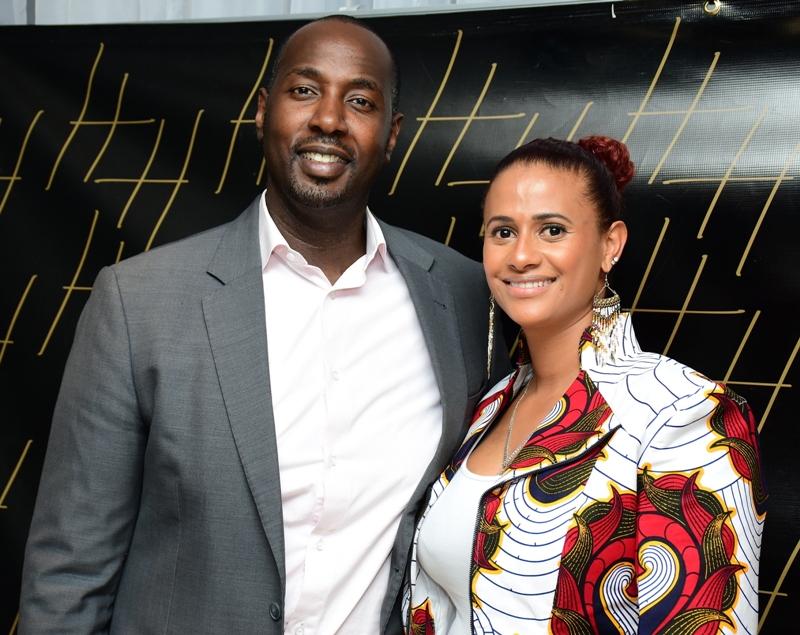 Hotel and Hospitality Consultant Daniel Ebo and his wife Habida.