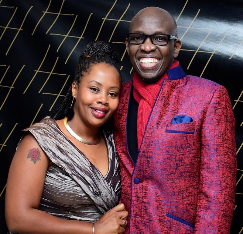 Managing Director of the Enterprise Division at Telkom Kenya,Kris Senanu and his Entreprenuer wife Nina Senanu.