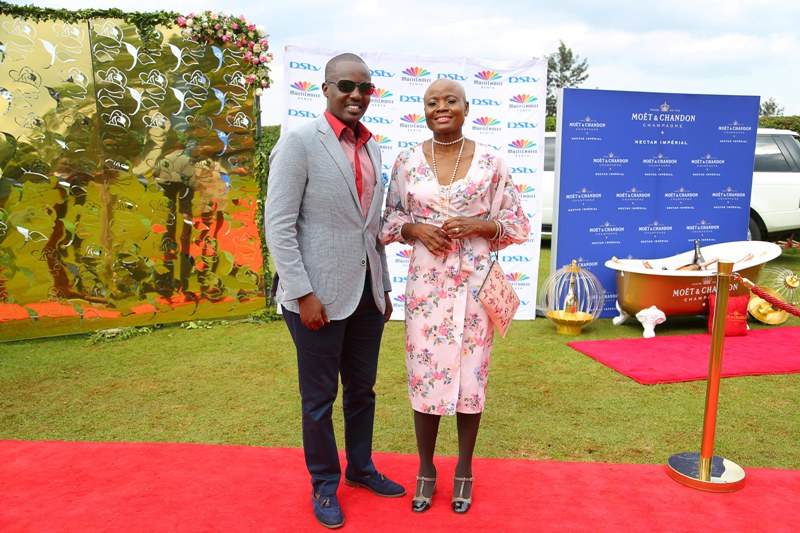 Philip Wahome and Dr Cathrene Masitsa