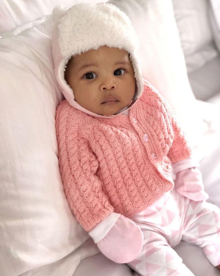 Nick Mutuma's daughter Dua.
