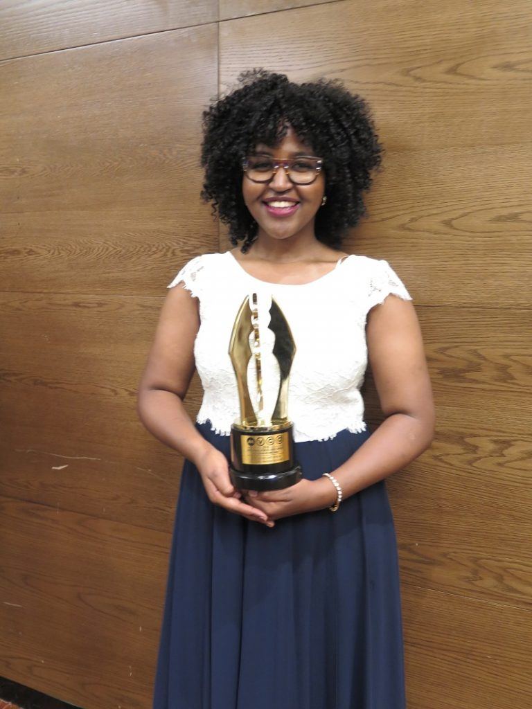 Phoebe Ruguru won Best Overall Movie in Africa and Best Movie East Africa.
