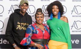 Adelle Onyango and Caroline