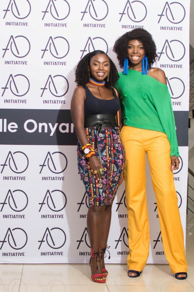 Patricia Kihoro and Adelle Onyango.
