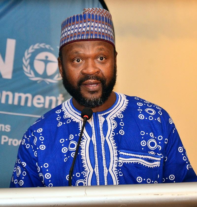 Cyrille-Lazare Siewe – Coordinator, UN Environment Kenya.