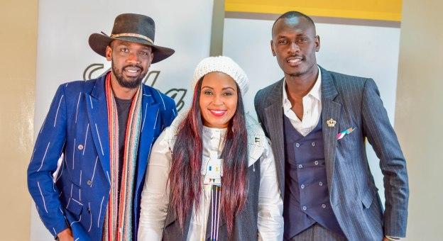 King Kaka, Mufasa Poet & Sheila Mwanyigha