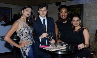 Pinky Ghelani, Pierre Louis, Olive Gachara and Meera Karia